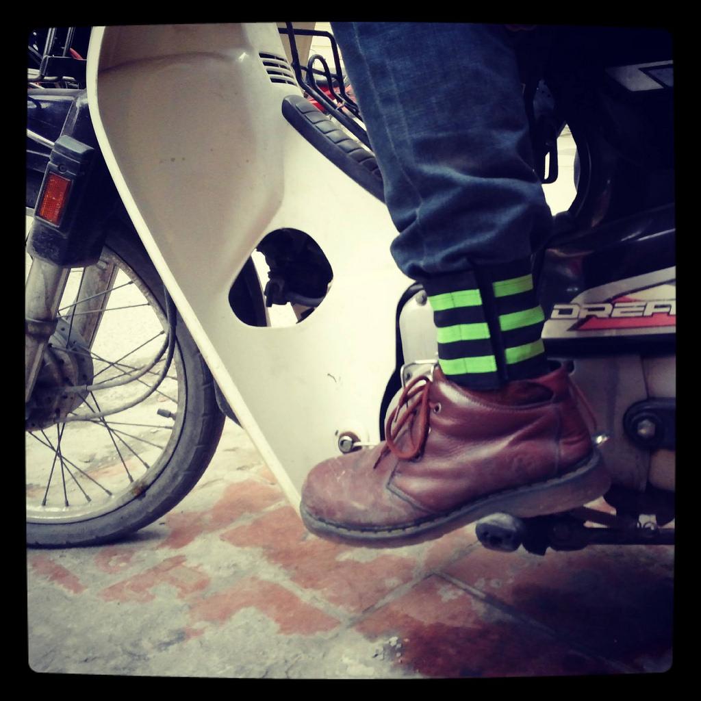 Xà cạp bó chân thường