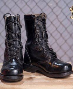 giày lính hàn boot lính cao cổ