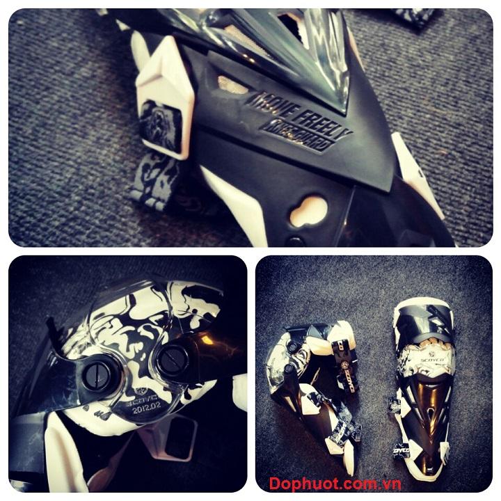 giáp bảo vệ chân scoyco K12