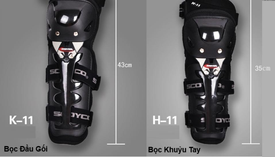 giáp bảo vệ scoyco K11H11