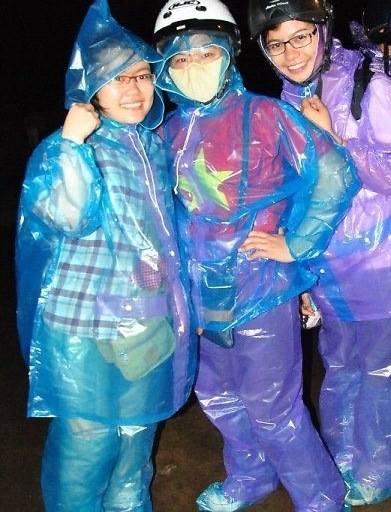 áo mưa bộ nilon
