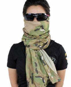 khăn lưới chống nắng