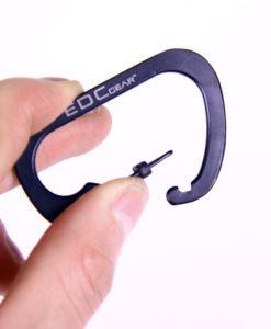 móc chìa khóa chữ D EDC (1)
