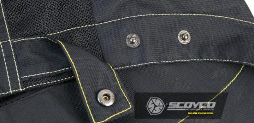 áo khoác giáp đi xe máy scoyco