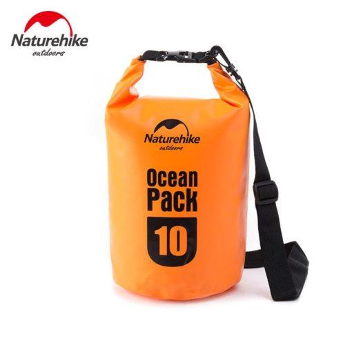 túi chống nước máy ảnh Naturehike 10L màu cam