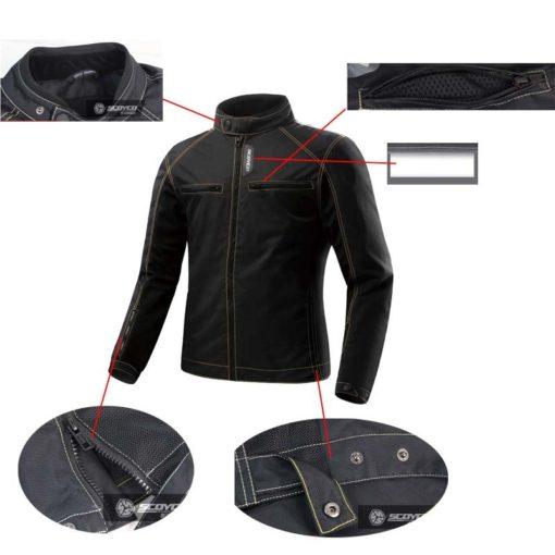 cấu tạo của áo scoyco jk49
