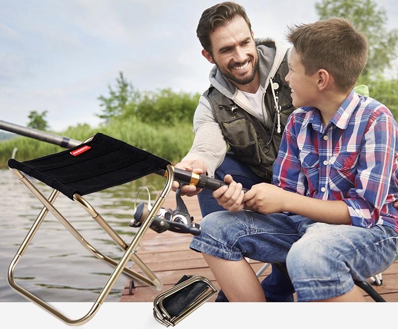 ghế gấp câu cá du lịch NH17Z012-L