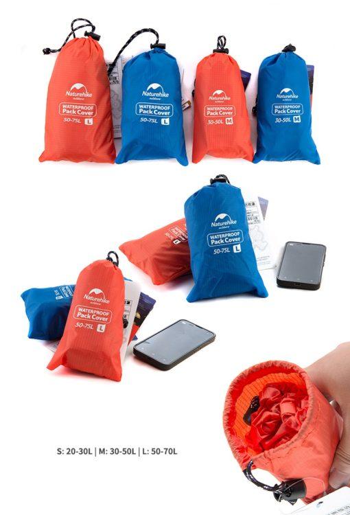 túi chống nước cho balo naturehike NH15Y001-Z