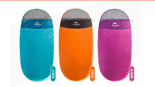 các màu sắc của túi ngủ Naturehike