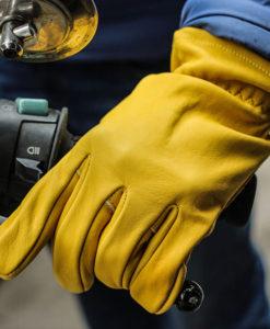Găng tay mùa đông chất liệu da(Yellow) BILTWELL