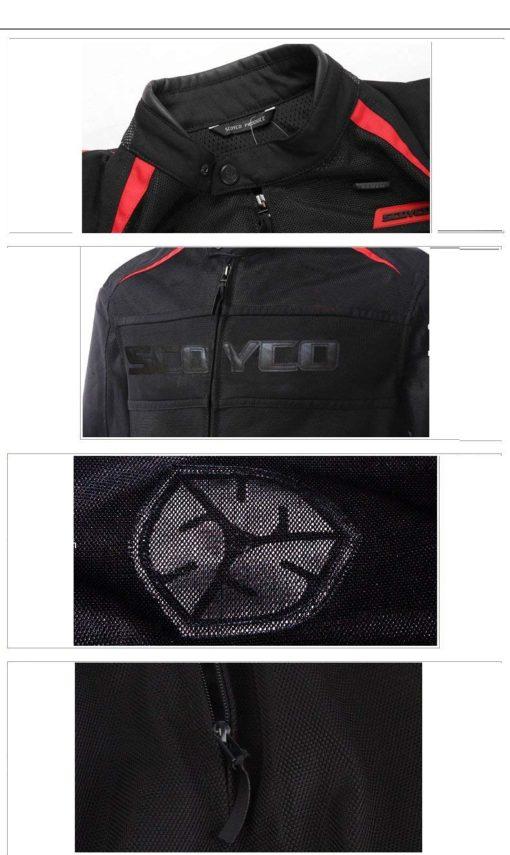 áo khoác giáp bảo hộ scoyco