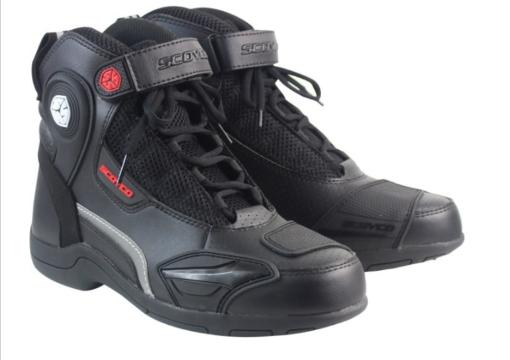 Giày bảo hộ đi xe máy socyco mt015