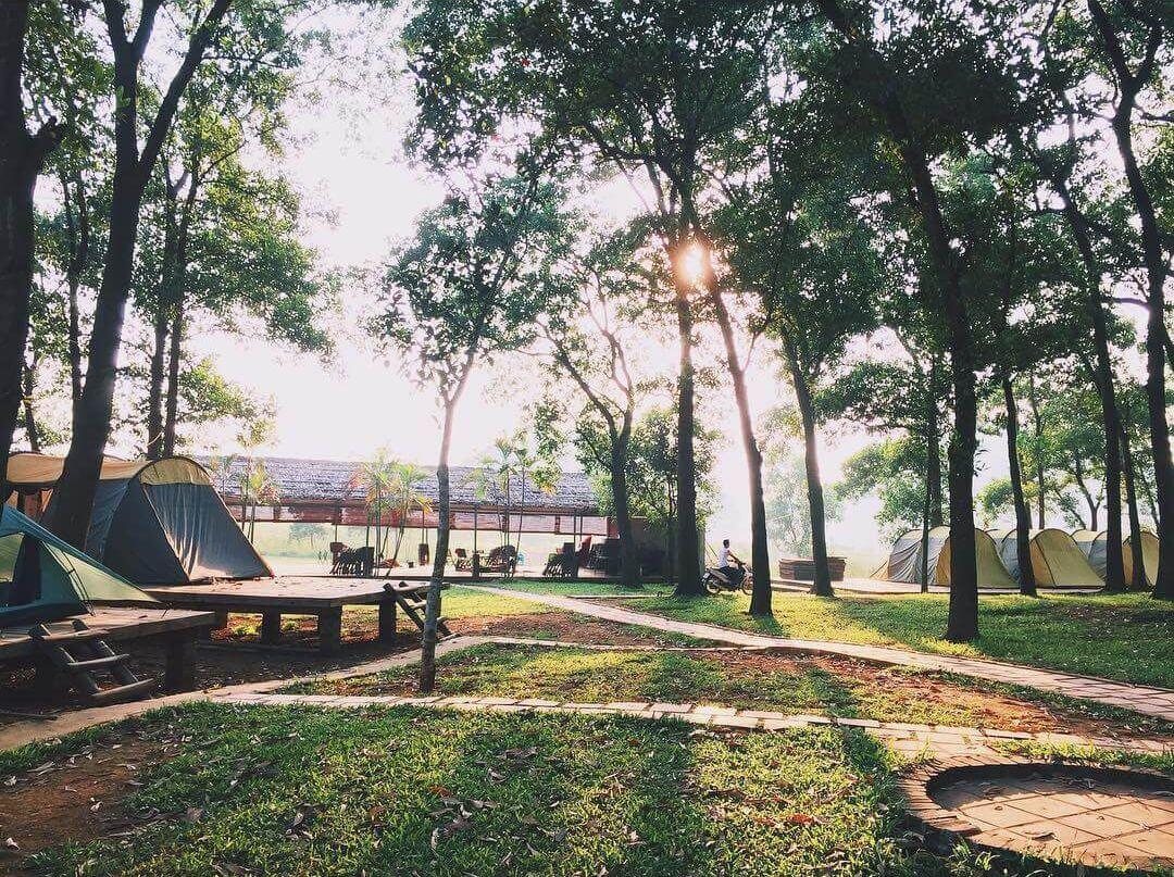 Cắm trại cuối tuần Hà Nội