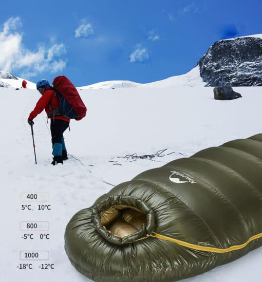 túi ngủ của naturehike