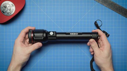 đèn pin siêu sáng cao cấp Nebo Redline-Blast-5
