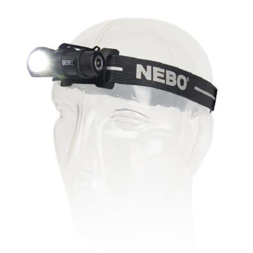đèn pin đội đầu siêu sáng NEBO REBEL