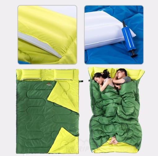 Túi ngủ đôi