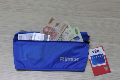 túi đeo bụng chống trộm Rimix
