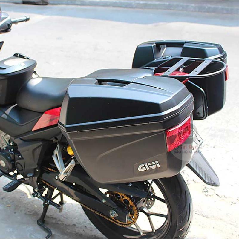 Thùng hông xe máy Givi E22N chất lượng, tiện lợi - ArmyHaus