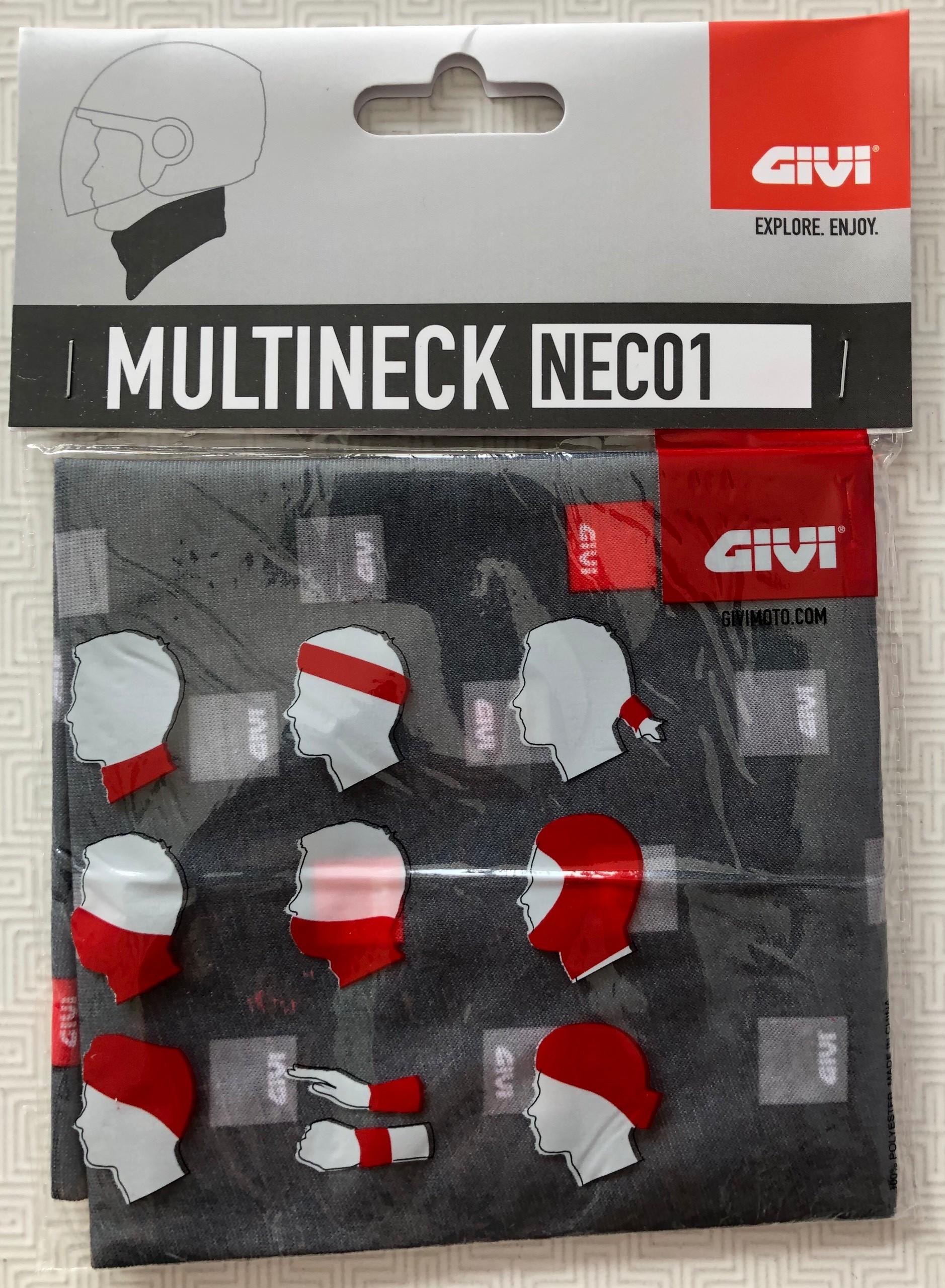 Khăn ống đa năng Givi NEC01.XE