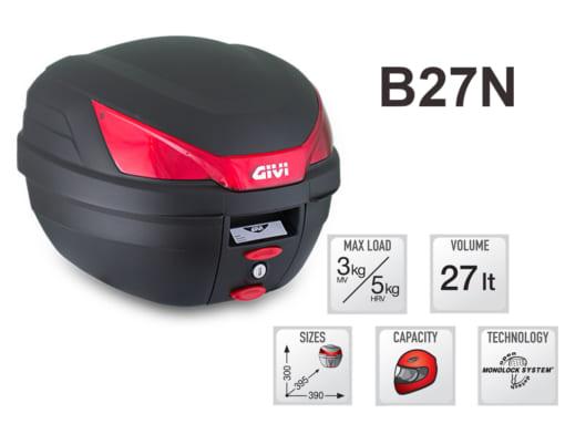Thùng sau xe máy Givi B27N