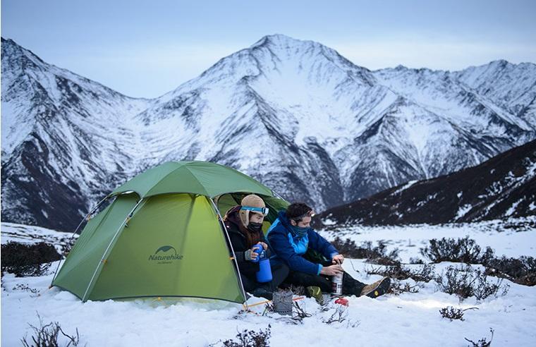 Lều cắm trại mùa đông có khả năng giữ nhiệt tốt