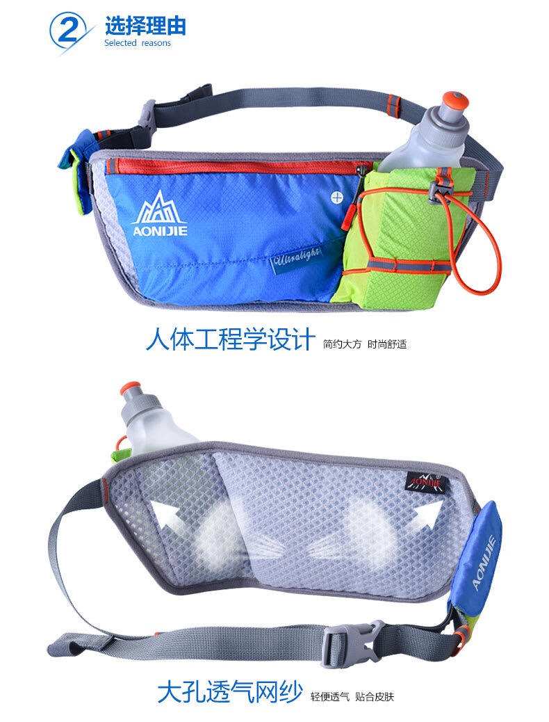 túi đeo hông chạy bộ đạp xe Aonijie E887