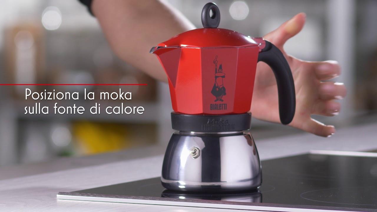 Bình đựng cà phê Moka Induction màu đỏ Bialetti BCM-4922