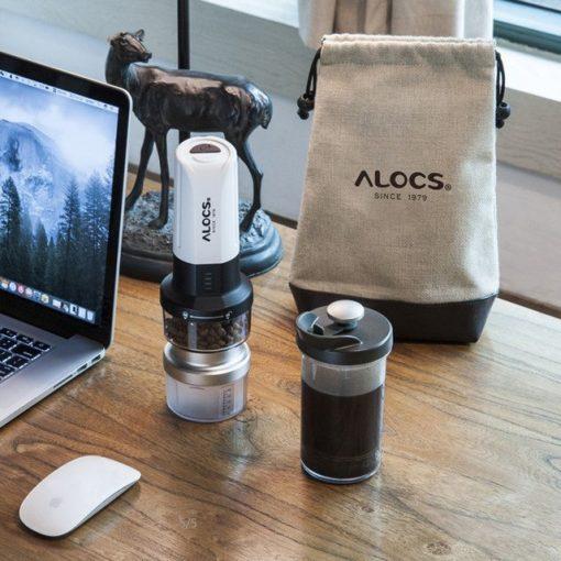 Cối xay cà phê chạy pin Alocs KW-K27