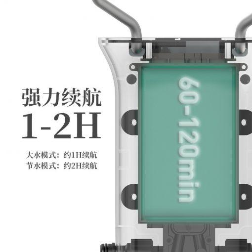 Bộ vòi sen kèm máy bơm áp lực cao NH20SJ018