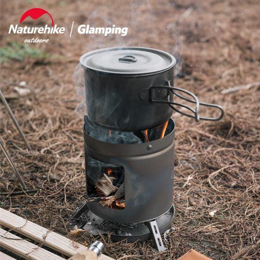 Bếp củi – Than hoa mini Naturehike NH20RJ005