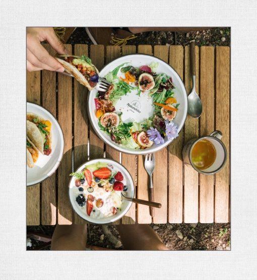 Bộ bát đĩa tráng men Naturehike NH20SJ030